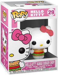 Hello Kitty (Kawaii Burger Shop) Vinylfiguur 29