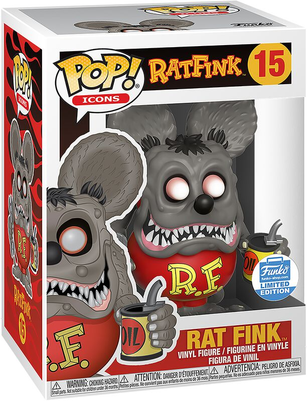 Ad Icons - Rat Fink (Funko Shop Europe) Vinylfiguur 15
