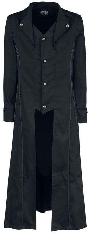 Manteau Classique Noir