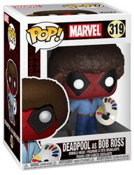 Figurine en vinyle Deadpool en Bob Ross  319