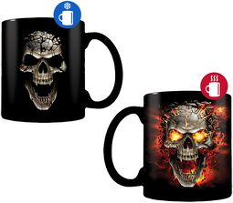 Crâne Explosion - Mug Thermoréactif