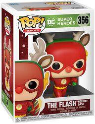 The Flash Tornade (Noël) - Funko Pop! n°356