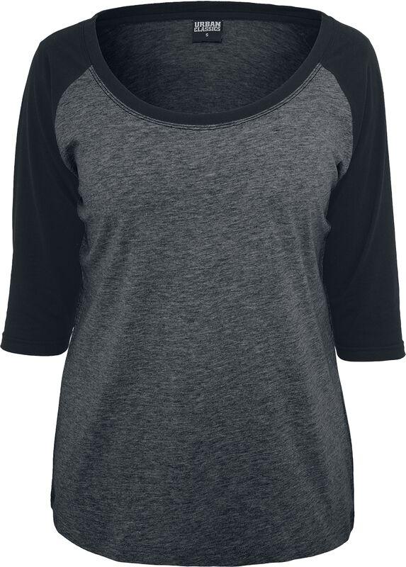 T-Shirt Manches 3/4 Raglan Femme