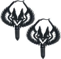 Winged Wolves Hoops Pairs