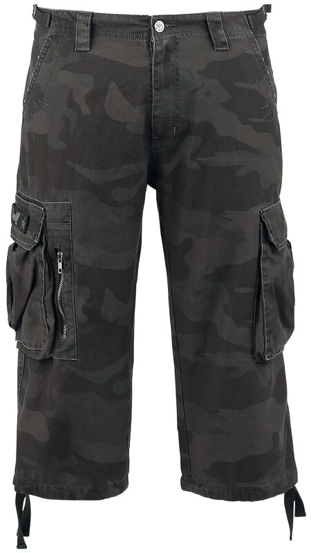 Short 3/4 Army Vintage