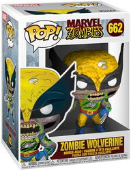 Zombies - Zombie Wolverine - Funko Pop! n°662