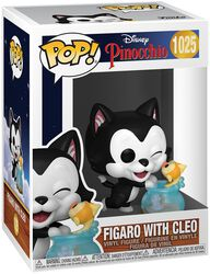 80th Anniversary - Figaro with Cleo Vinylfiguur 1025