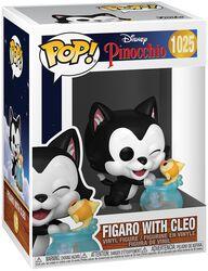 80th Anniversary - Figaro with Cleo Vinylfiguur 1025