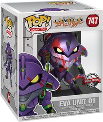 Eva Unit 1 (Oversized) (Metallic) Vinylfiguur 747