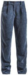 Pantalon En Velours Style Années 60