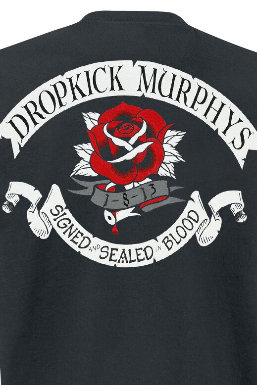 Signed And Sealed In Blood Dropkick Murphys T Shirt Large