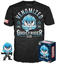 Venom - T-Shirt plus Funko Ghost Rider