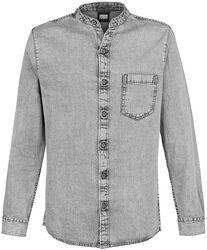 Chemise à col remonté