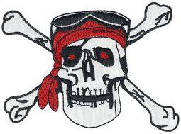 Patch : Crâne Pirate Avec Bandana