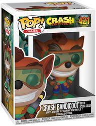 Crash Bandicoot with Scuba Gear Vinylfiguur 421