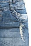 Jupe Destroyed En Jean