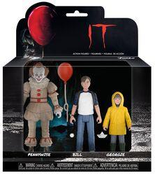 Set 1 - Pennywise, Bill und Georgie