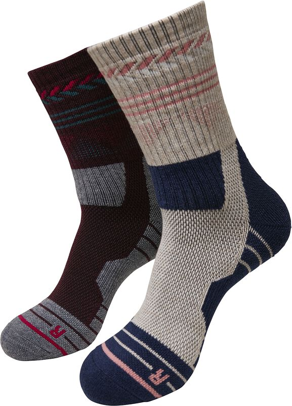 Lot De 2 Paires De Chaussettes Hiking Performance