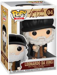 Artists  - Leonardo da Vinci Vinylfiguur 04