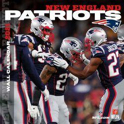New England Patriots- 2021 Calendar