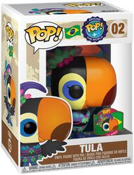 Around the World - Tula (POP & Pin) (Brésil) (Funko Shop Europe) - Funko Pop! n°02