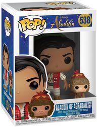 Aladdin of Agrabah with Abu Vinylfiguur 538