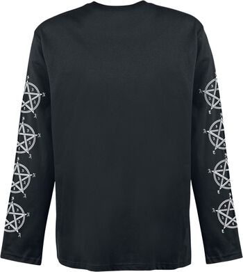 Longsleeve with gothic print