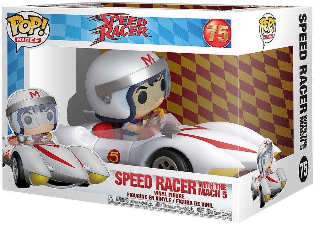 Speed Racer Speed Racer Avec Mach 5  (POP Rides) - Funko Pop! n°75