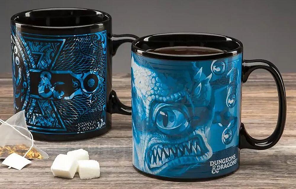 Donjons & Dragons - Mug Thermo-Réactif