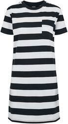 Robe T-Shirt Rayée Boxy
