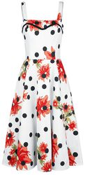 Daisy Polka Dot Dress