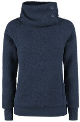 High Collar Fleece Sweater