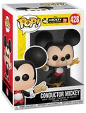 Mickey's 90th Anniversary - Conductor Mickey Vinylfiguur 428