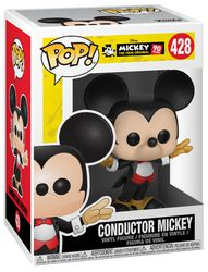 Mickey's 90th Anniversary - Conductor Mickey Vinylfiguur 428