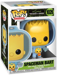 Treehouse of Horror - Spaceman Bart Vinyl Figur 1026