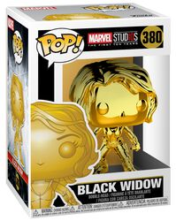 Marvel Studios 10 - Black Widow (Chrome) Vinylfiguur 380
