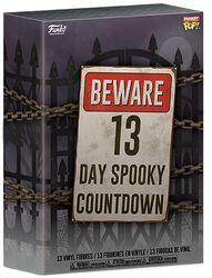 Calendrier Compte À Rebours Halloween Beware 13 Spooky Days 2020