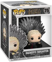 Daenerys Targaryen Iron Throne (POP Deluxe) Vinylfiguur 75