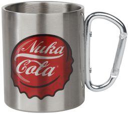 Nuka Cola - Mug with Carabiner Clip