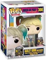 Harley Quinn and Beaver - Funko Pop! n°308