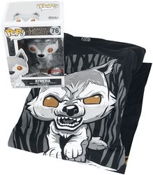 Nymeria - T-Shirt & Funko - Fan Package