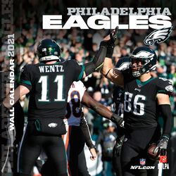 Philadelphia Eagles - 2021 Calendar