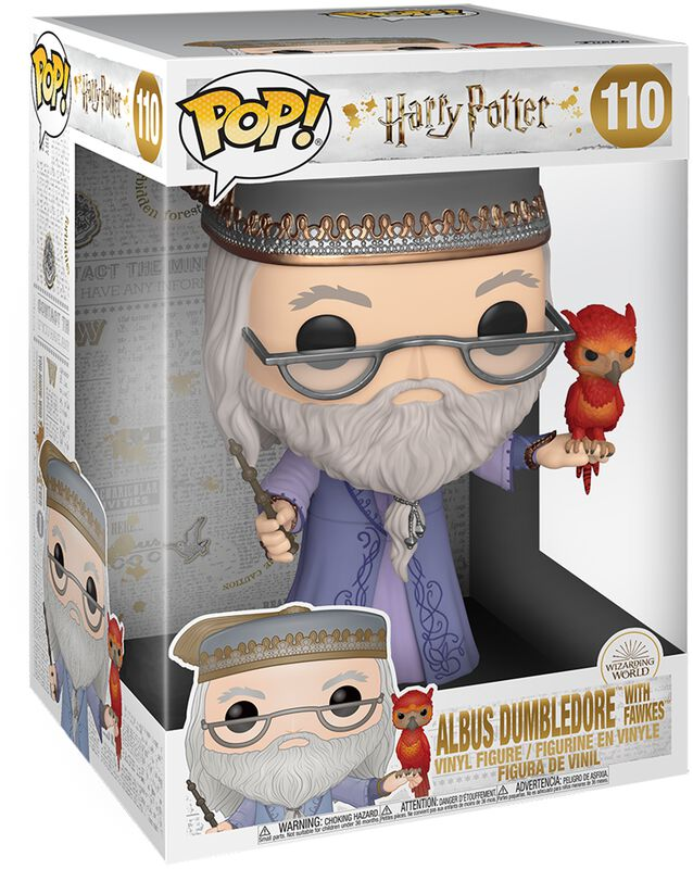 Dumbledore & Fumsec (Life Size) - Funko Pop! n°110