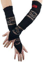 Lace Fingerless Gloves