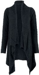 Ladies Knit Feather Cardigan