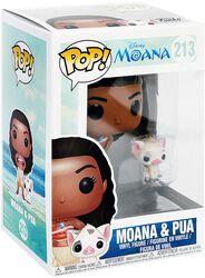Moana & Pua Vinylfiguur 213