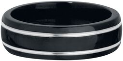 Black & Silver Titan Ring