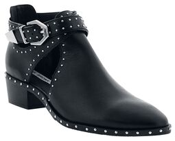 Ankle Boots With Cutouts and Studs