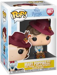 Mary Poppins with Bag Vinylfiguur 467
