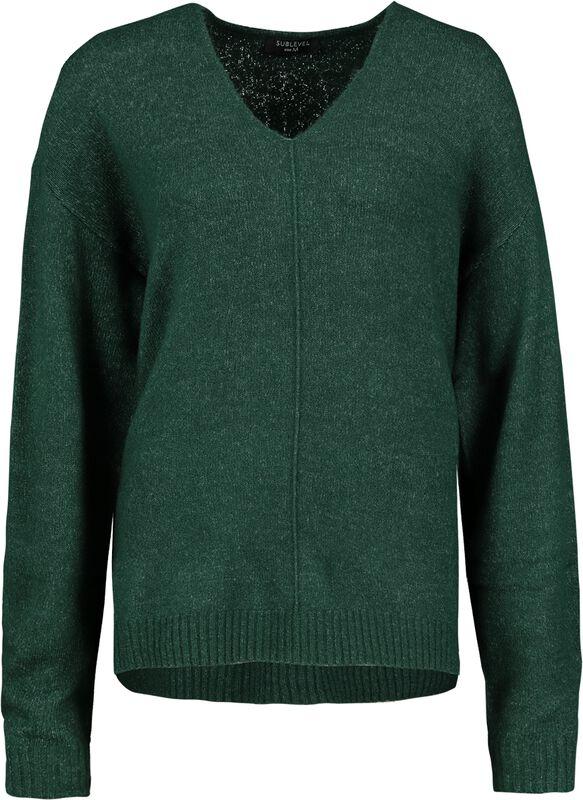 Ladies V-Neck Pullover